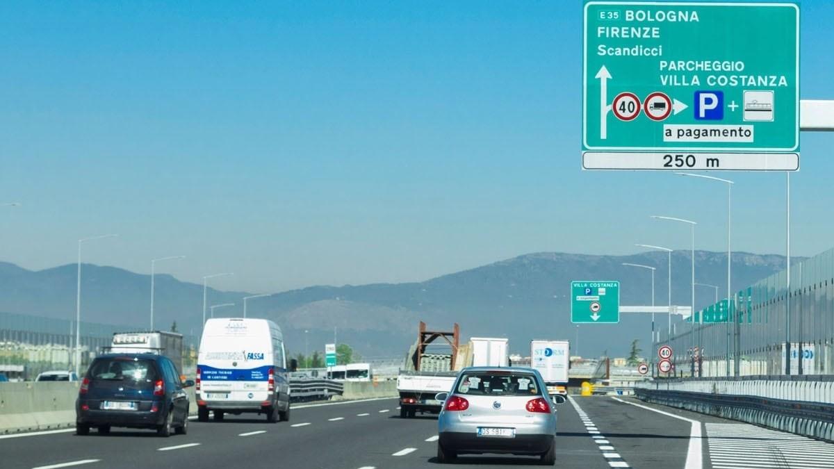Una de las autopistas que Atlantia tiene en Italia a través de Autostrade