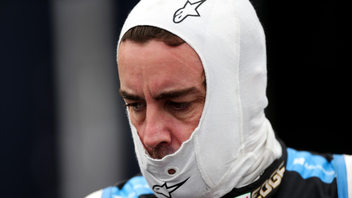 Fernando Alonso, tras el Gran Premio de Emilia Romagna. (Getty)