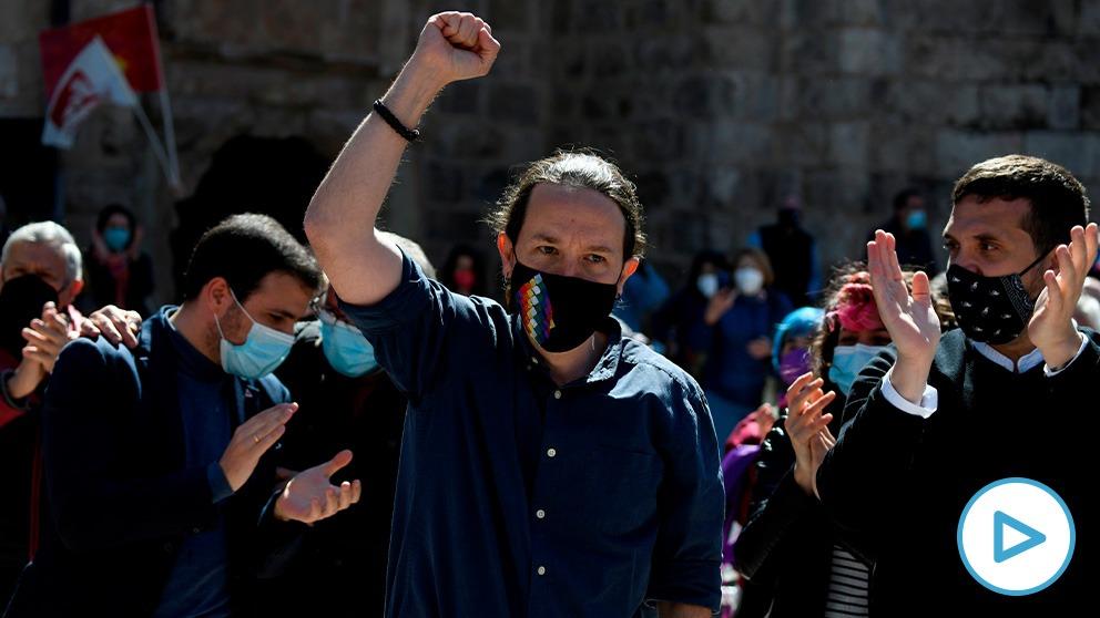 Pablo Iglesias: El 'macho alfa' al rescate de Podemos en Madrid.