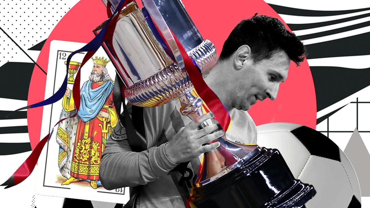 Messi ha ganado siete Coas del Rey.