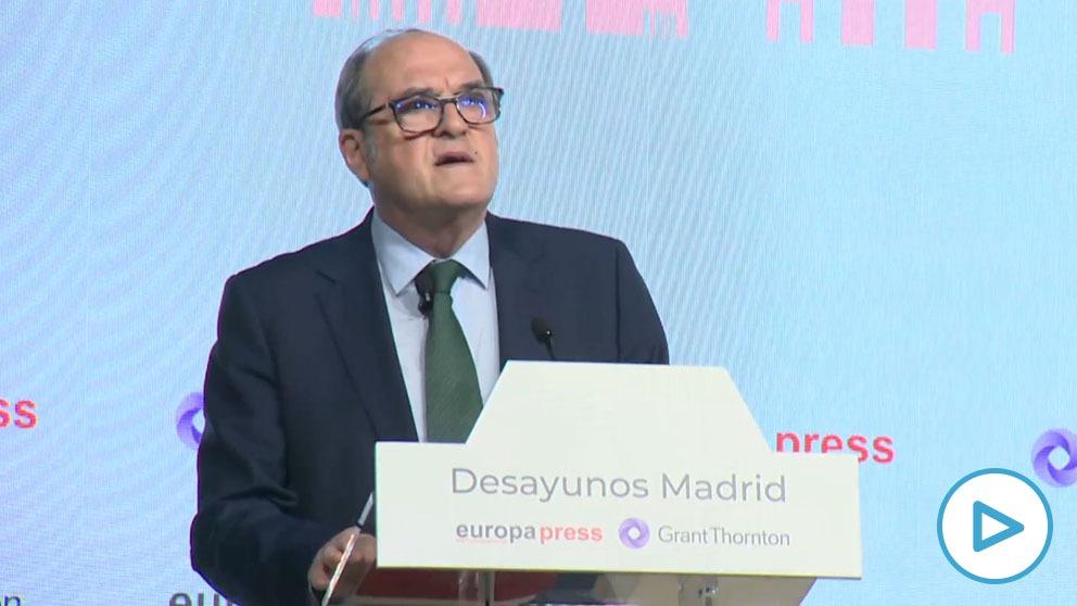 Ángel Gabilondo promete 400 € anuales para madrileños con pensiones no contributivas en caso de salir elegido presidente regional.
