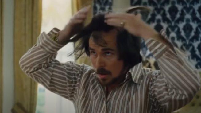 Christian Bale en La Gran Estafa Americana (Columbia Pictures