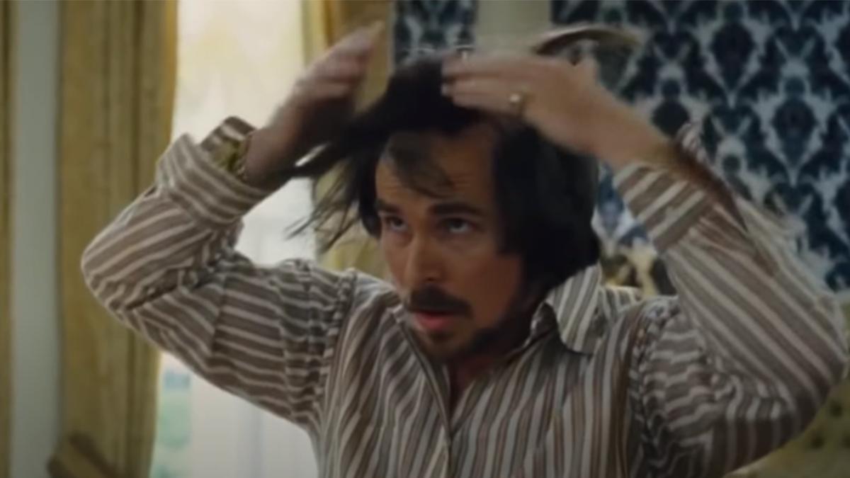 Christian Bale en La Gran Estafa Americana (Columbia Pictures)