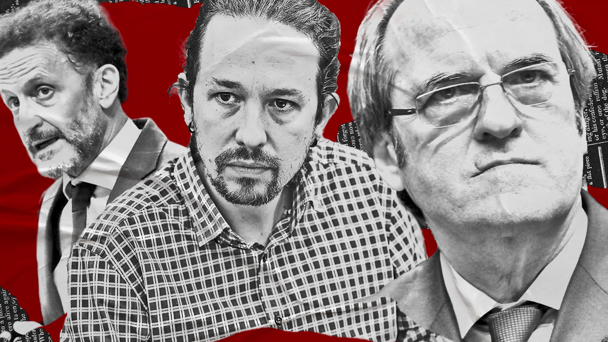Ángel Gabilondo, Pablo Iglesias y Edmundo Bal.