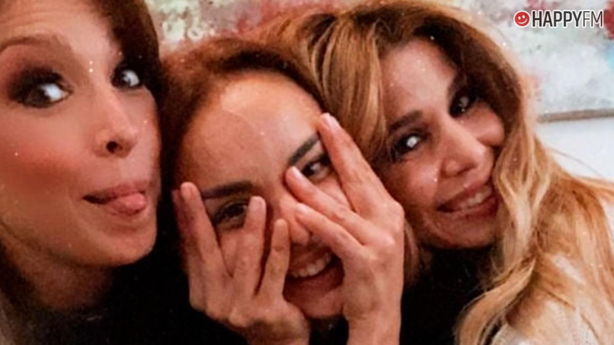 Gisela, Chenoa y Natalia