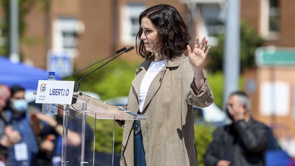 Isabel Díaz Ayuso. Foto: Europa Press