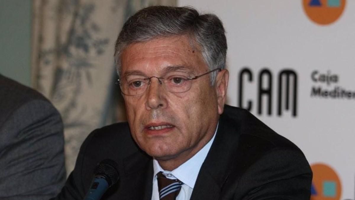 Modesto Crespo, ex presidente de la Caja de Ahorros del Mediterráneo (CAM)