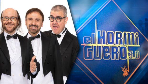 Santiago Segura, José Mota y Florentino Fernández visitan 'El hormiguero'