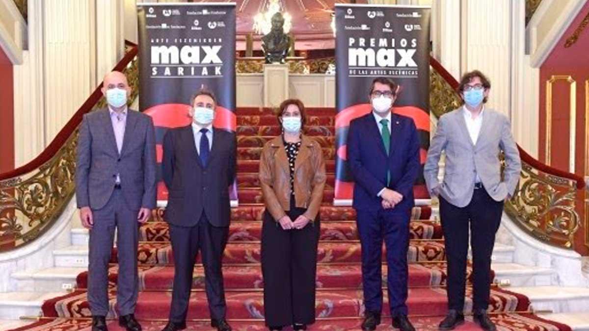 El Teatro Arriaga de Bilbao acogerá la ceremonia de entrega de los Premios Max de las Artes Escénicas. Foto: EP