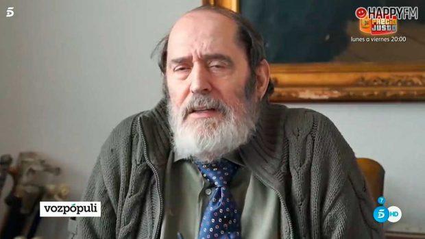 Emilio Rodríguez Menéndez asegura que conocía los malos tratos que sufrió Rocío Carrasco
