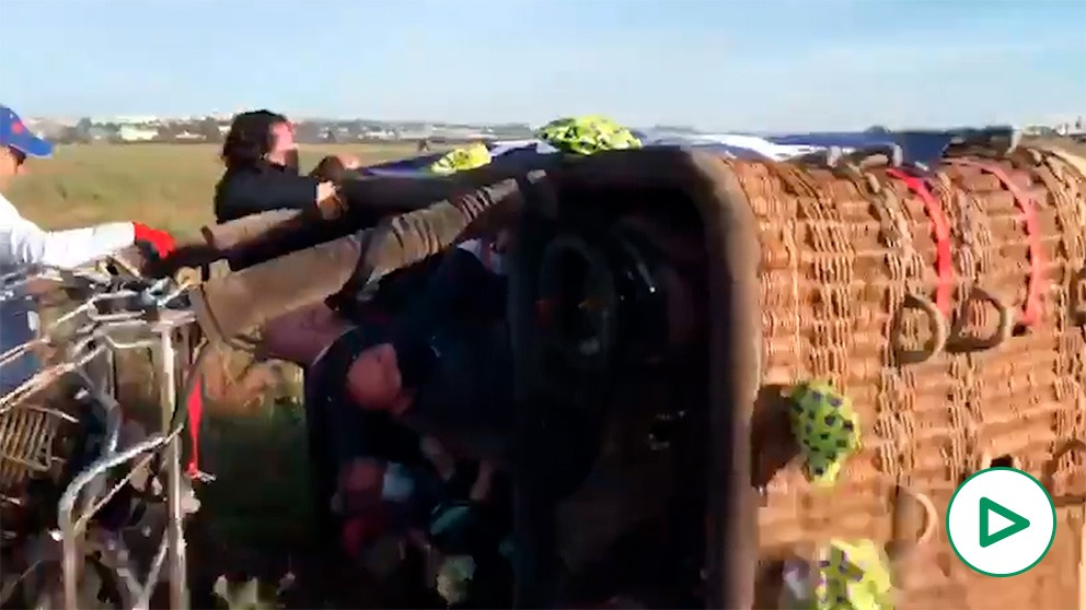 José Manuel Soto y su 'accidente' en globo aerostático.