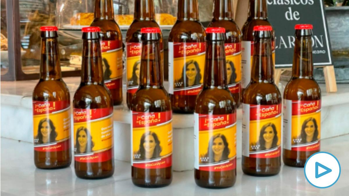 'La Caña de España', la cerveza de los hosteleros madrileños inspirada en Díaz Ayuso.
