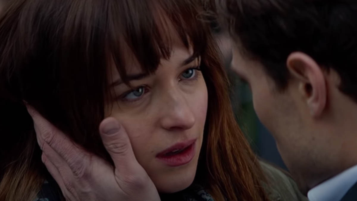 Dakota Johnson en la saga Cincuenta sombras de Grey (Universal pictures)