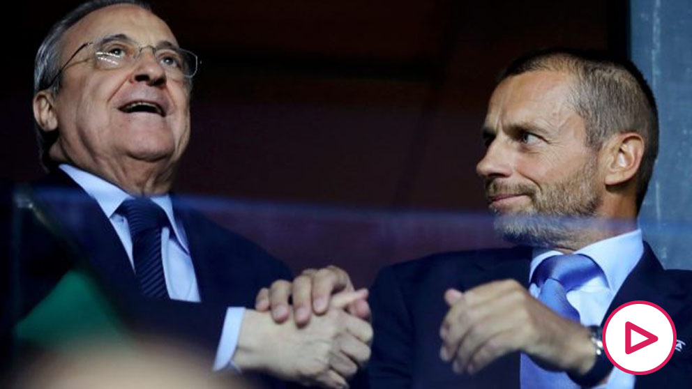El repaso de Florentino a la UEFA- «monopolio» y «nadie entiende la nueva Champions»