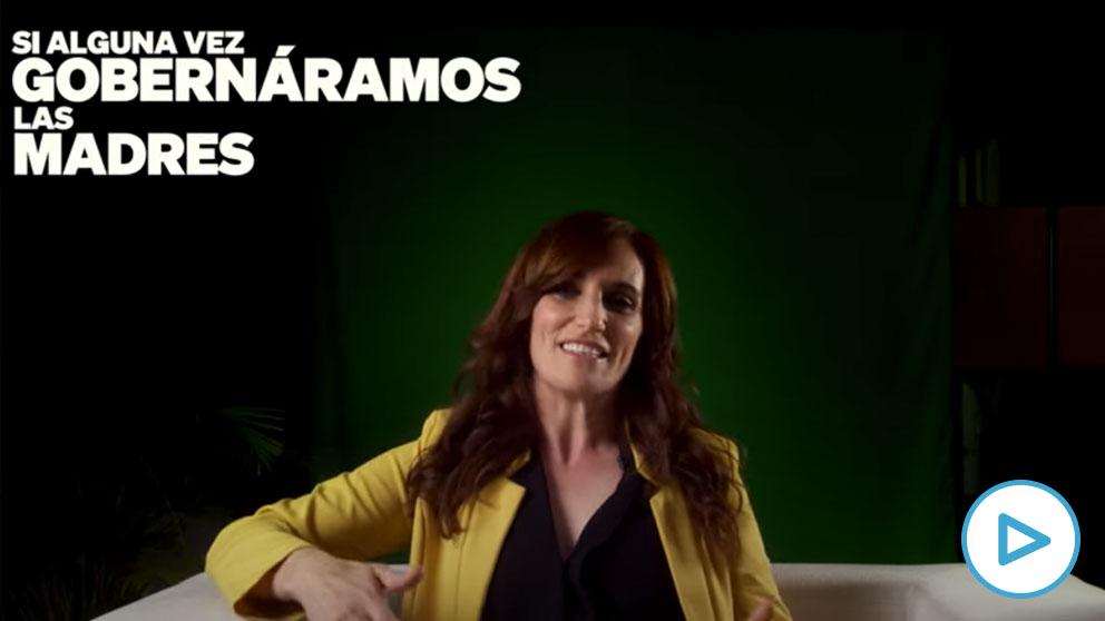 La candidata de Más Madrid al 4M, Mónica García.