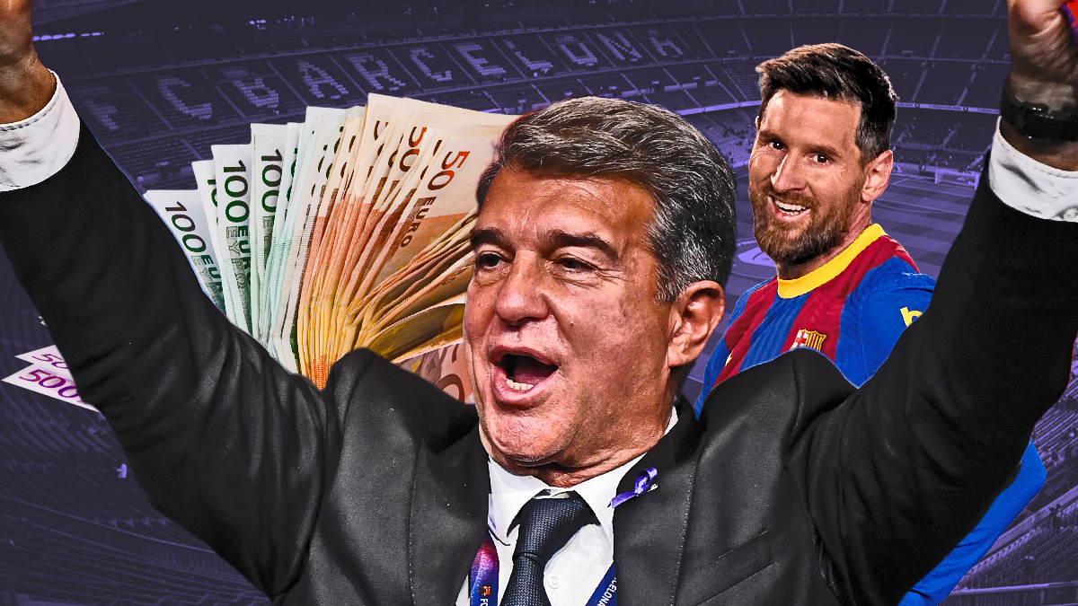 La Superliga ayuda a Laporta en la renovación de Messi.