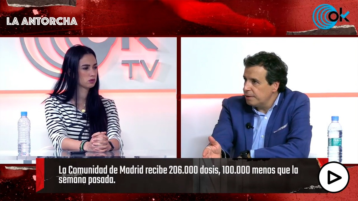La Antorcha: El ritmo de vacunación de Sánchez obliga al Gobierno a valorar la propuesta de Ayuso