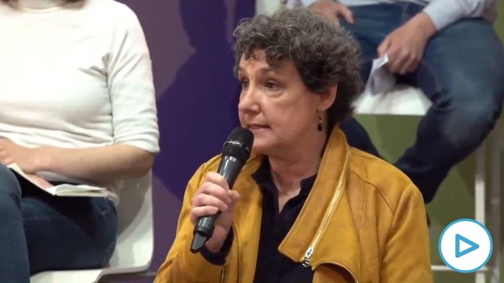 Beatriz Gimeno, candidata de Podemos para el 4M.