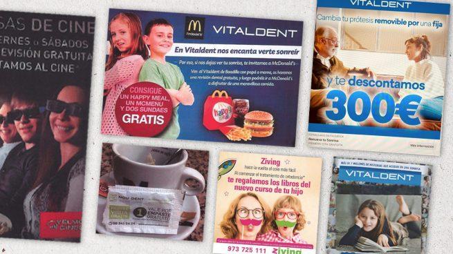 Regalar libros o comida por ir al dentista: así es la publicidad con la que quiere acabar el Senado