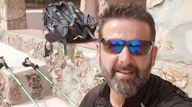 El emotivo homenaje de un guardia civil granadino a las víctimas del Covid: andará más de 350 kilómetros