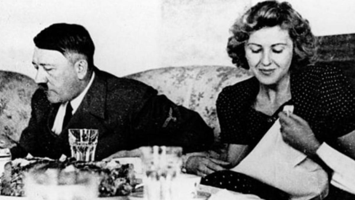Hitler y Margot Wölk