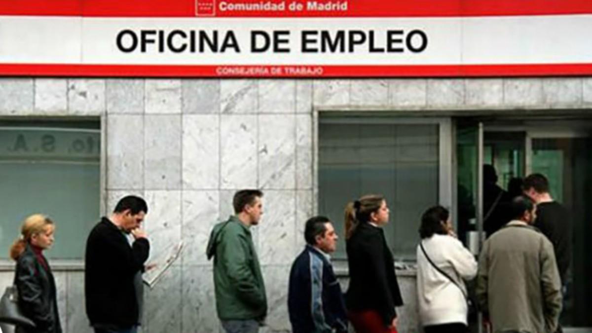Una oficina de empleo