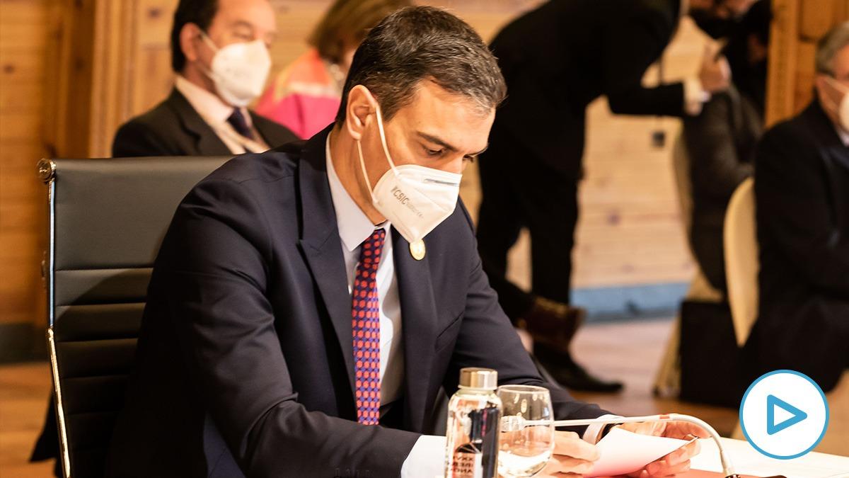 Sánchez en la Cumbre Iberoamericana en Andorra.