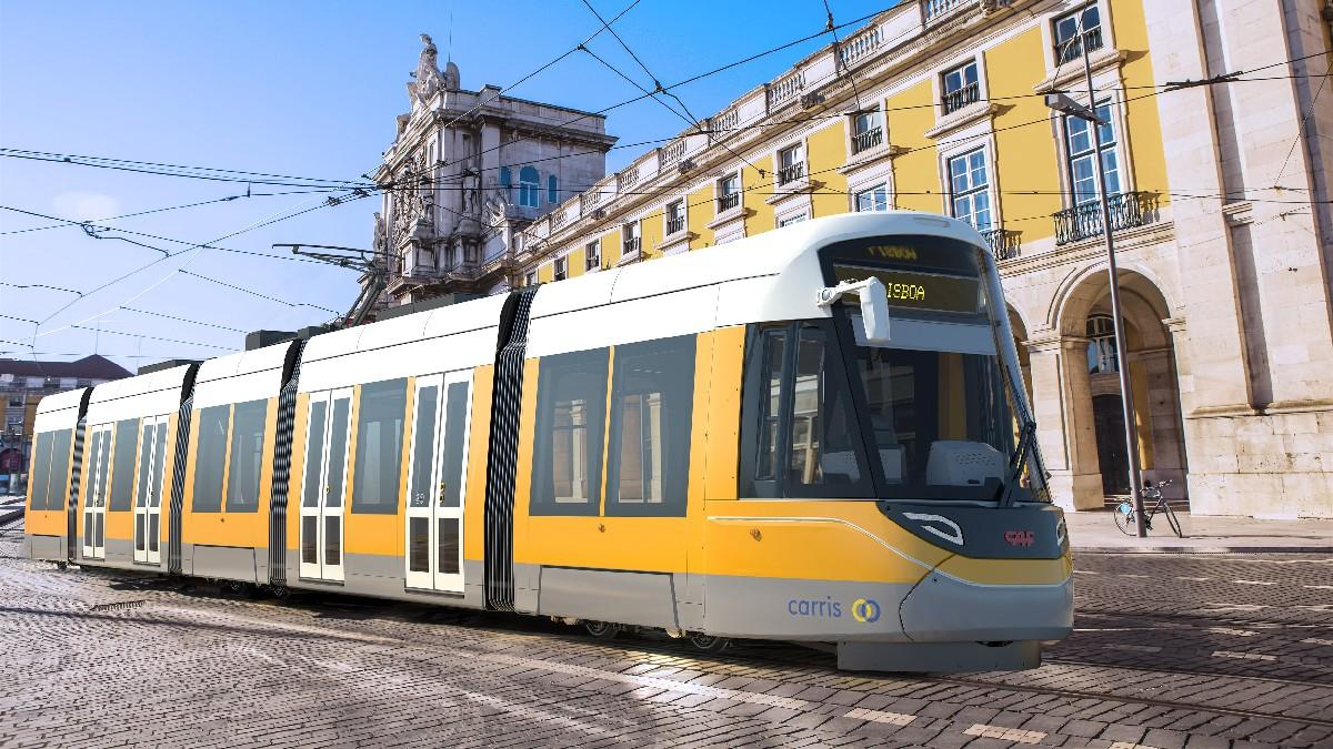 Tranvía de CAF para Lisboa