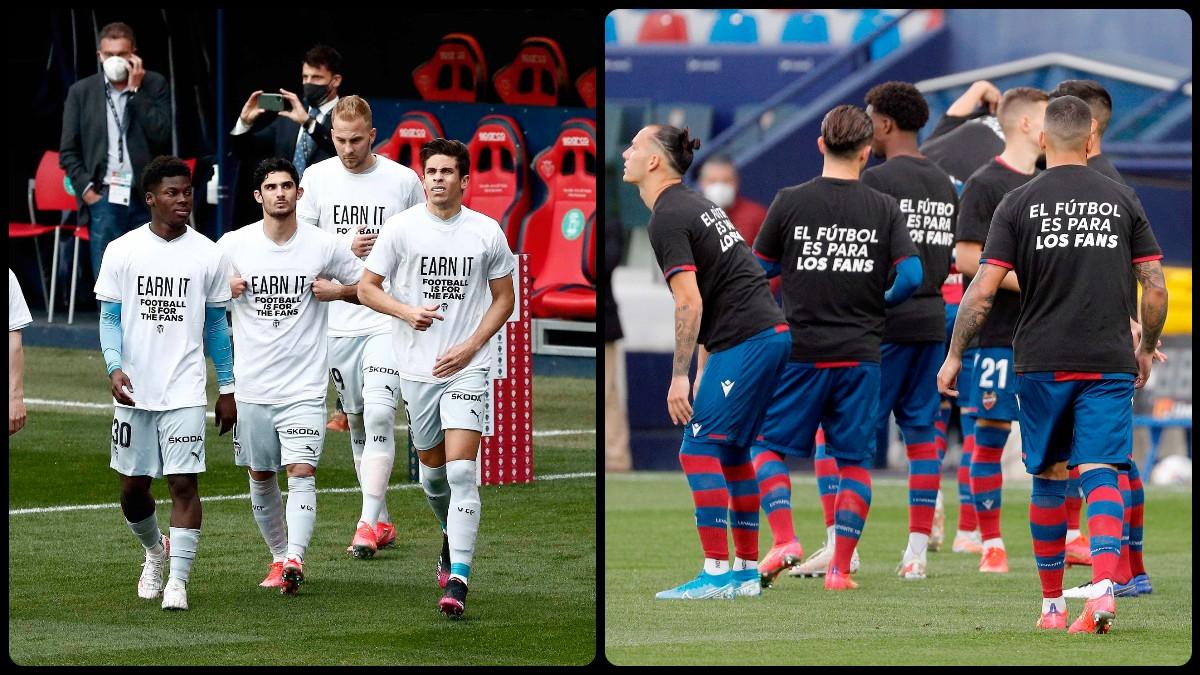 Los equipos de la Liga Santander se posicionaron contra la Superliga. (EFE)