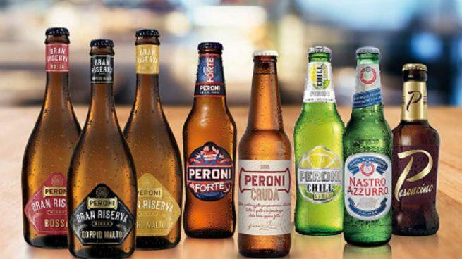 Birra Peroni, una de las marcas europeas de la japonesa Asahi