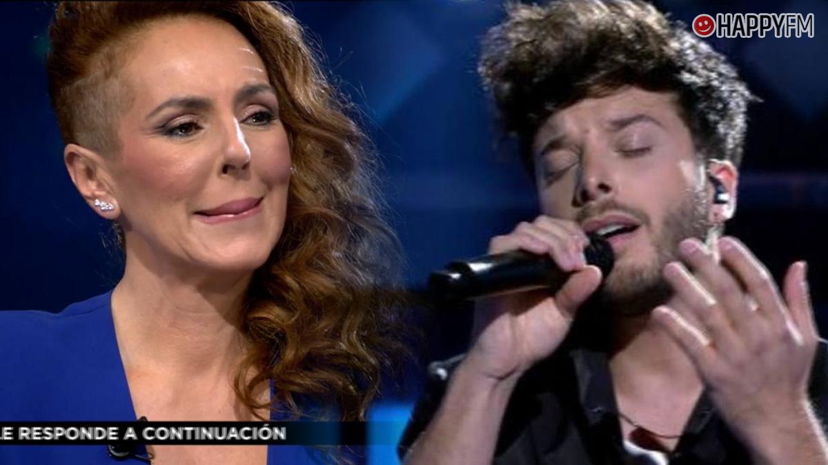 Blas Cantó y Rocío Carrasco