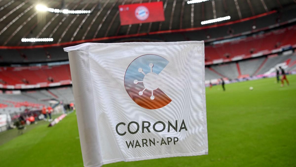 Imagen del Allianz Arena durante un partido de la Bundesliga. (AFP)