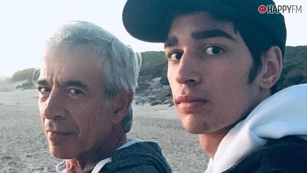 Imanol Arias y su hijo Daniel Arias