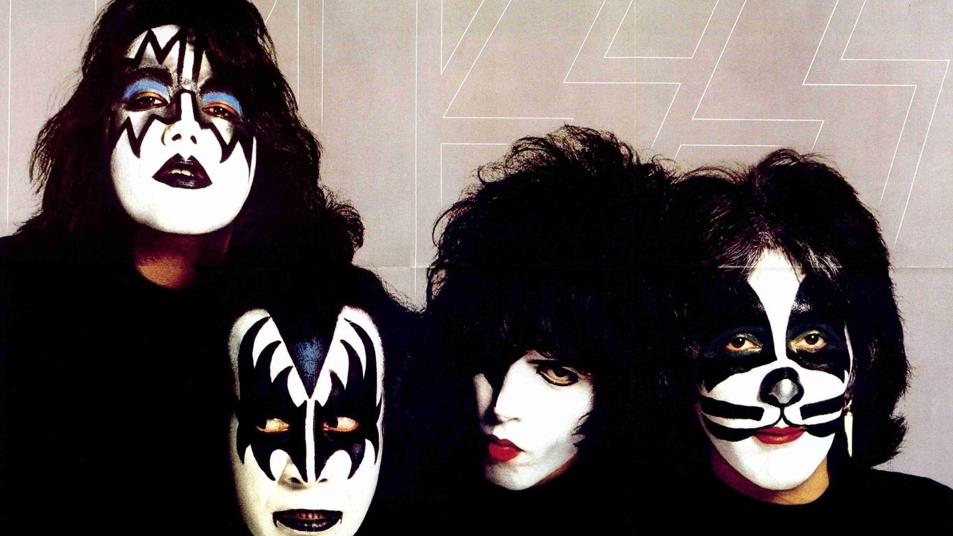La banda Kiss