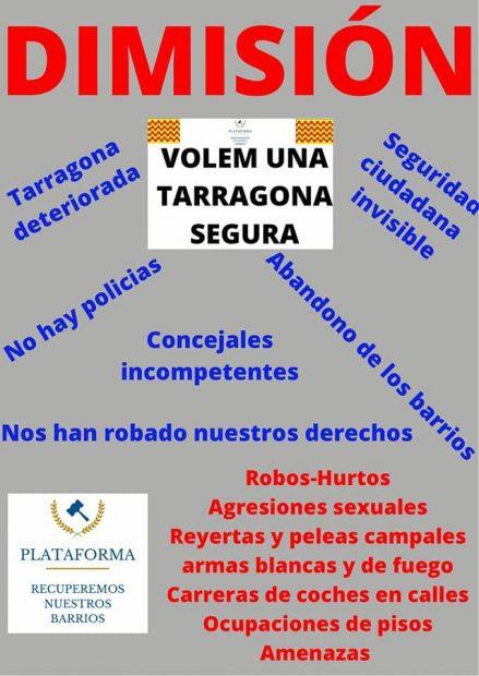 seguridad ciudadana Tarragona