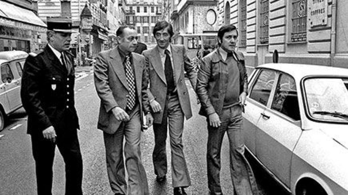 Albert Spaggiari junto a sus compañeros