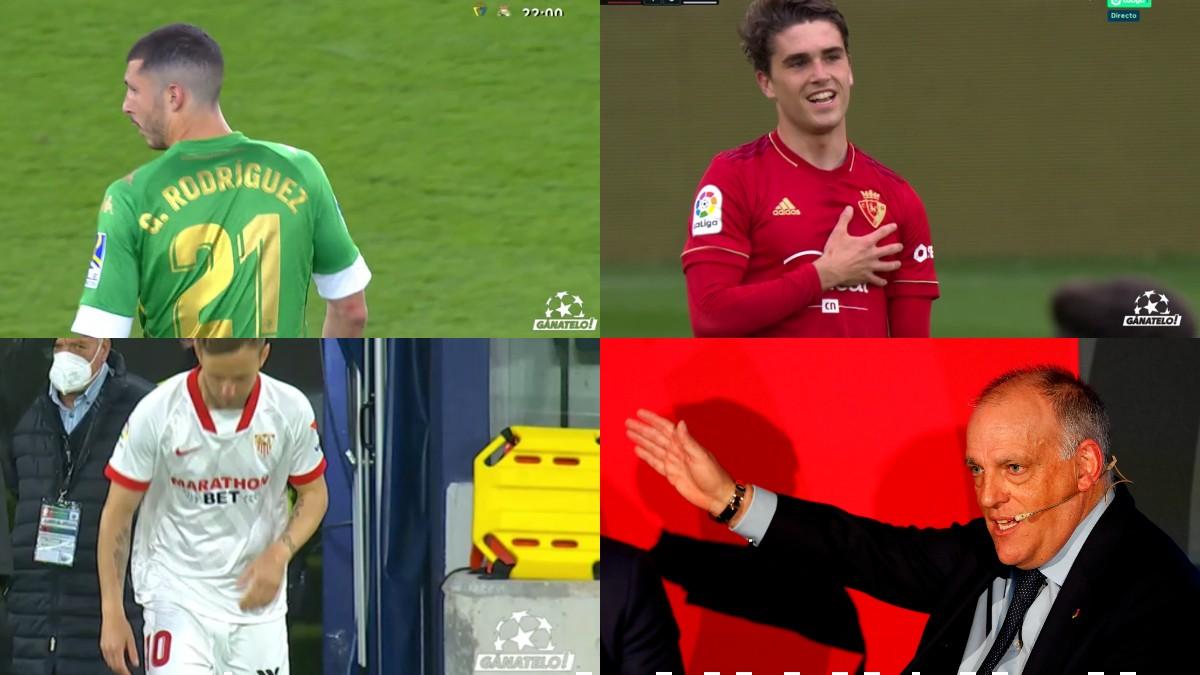 Tebas impuso un sello anti-Superliga en ls retransmisiones televisivas.
