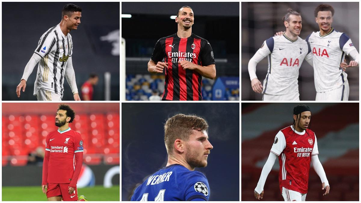 Los seis fundadores de la Superliga Europea que se pueden quedar fuera de la Champions. (AFP)