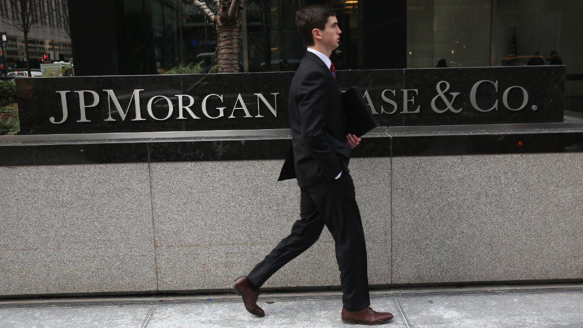 Una imagen de la sede de JPMorgan en Nueva York. (Getty)