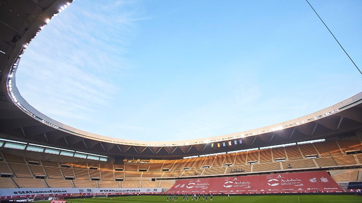 Estadio de La Cartuja, en Sevilla.
