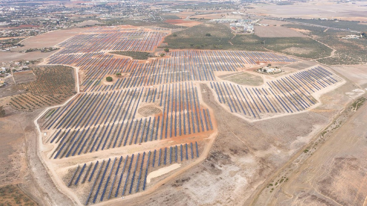Planta fotovoltaica de Opdenergy en Alcalá De Guadaira (Sevilla)