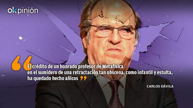 Retírese profesor Gabilondo