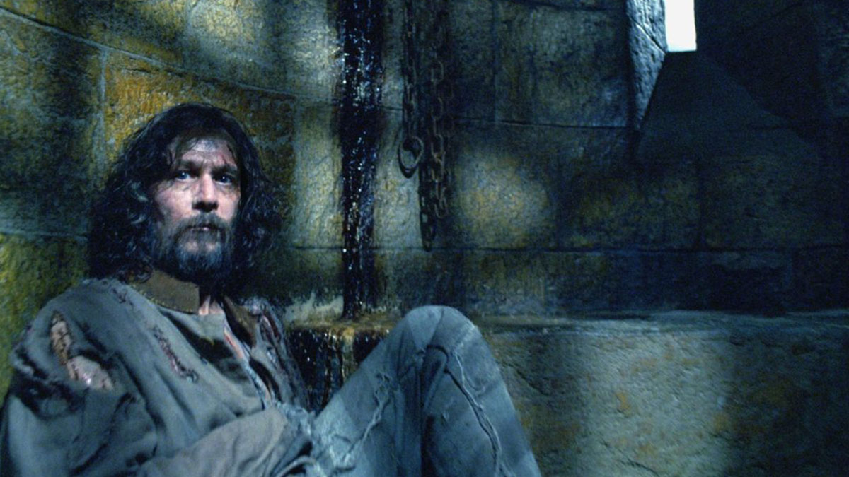 Sirius Black es un famoso prisionero de Azkaban en la saga de Harry Potter (Warner Bros Pictures)