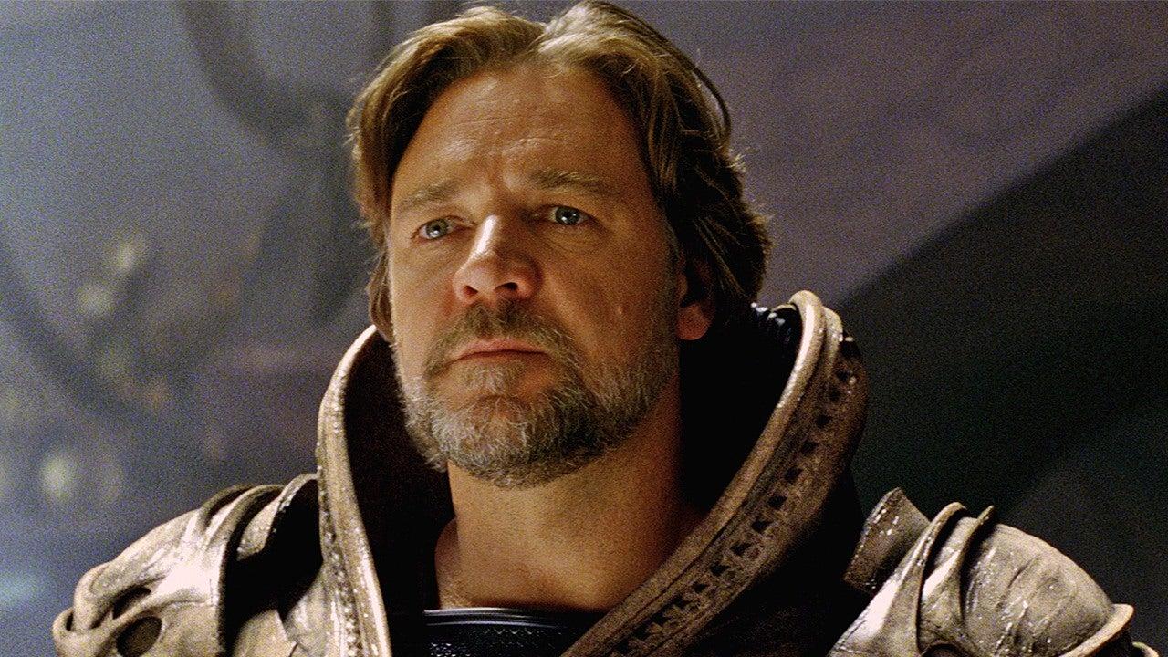 Russell Crowe en «El hombre de Acero» (Warner Bros Pictures)