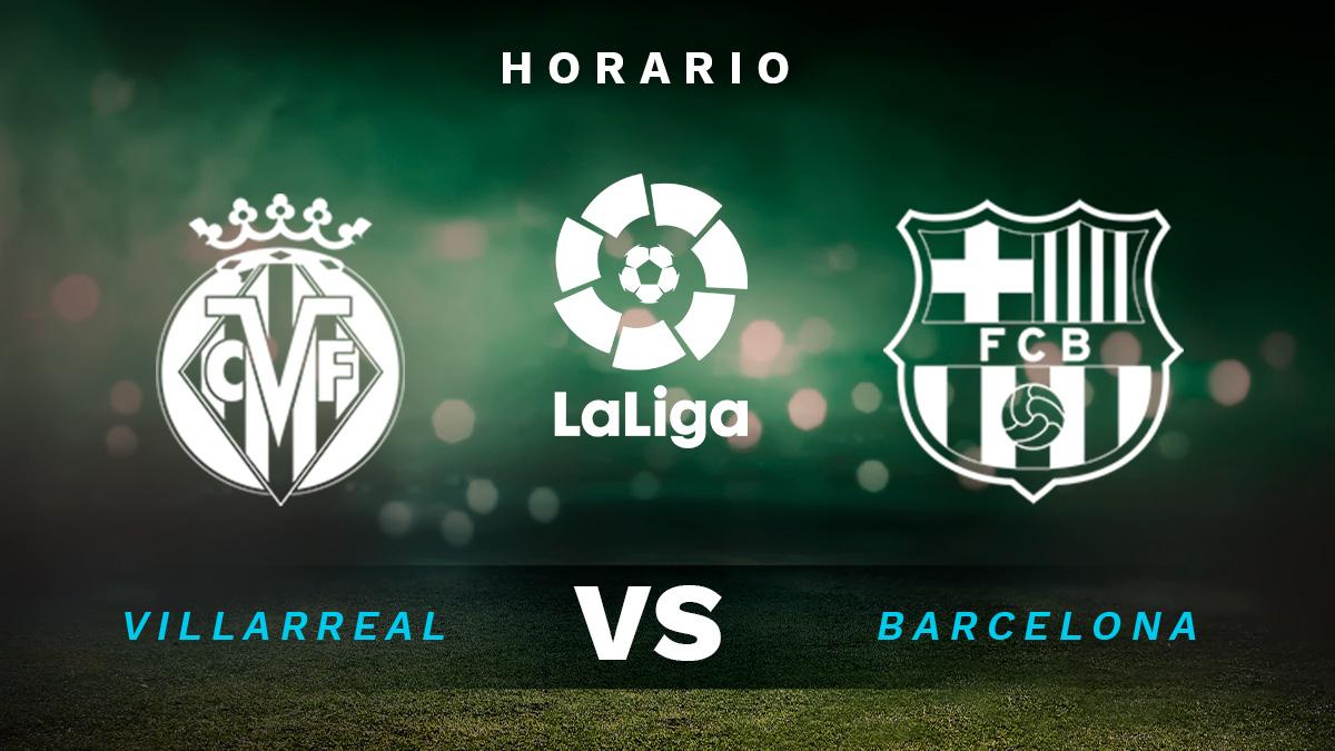 Villarreal – Barcelona: horario y dónde ver en directo por TV el partido de Liga Santander.