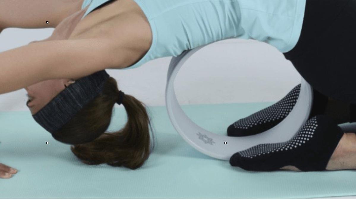 Bola de yoga para la espalda