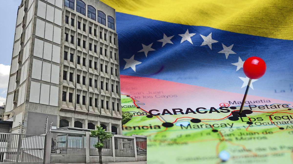 El edificio que la Fundación España Salud (FES) ha comprado en Caracas por 5,5 millones para convertirlo en su nueva sede.