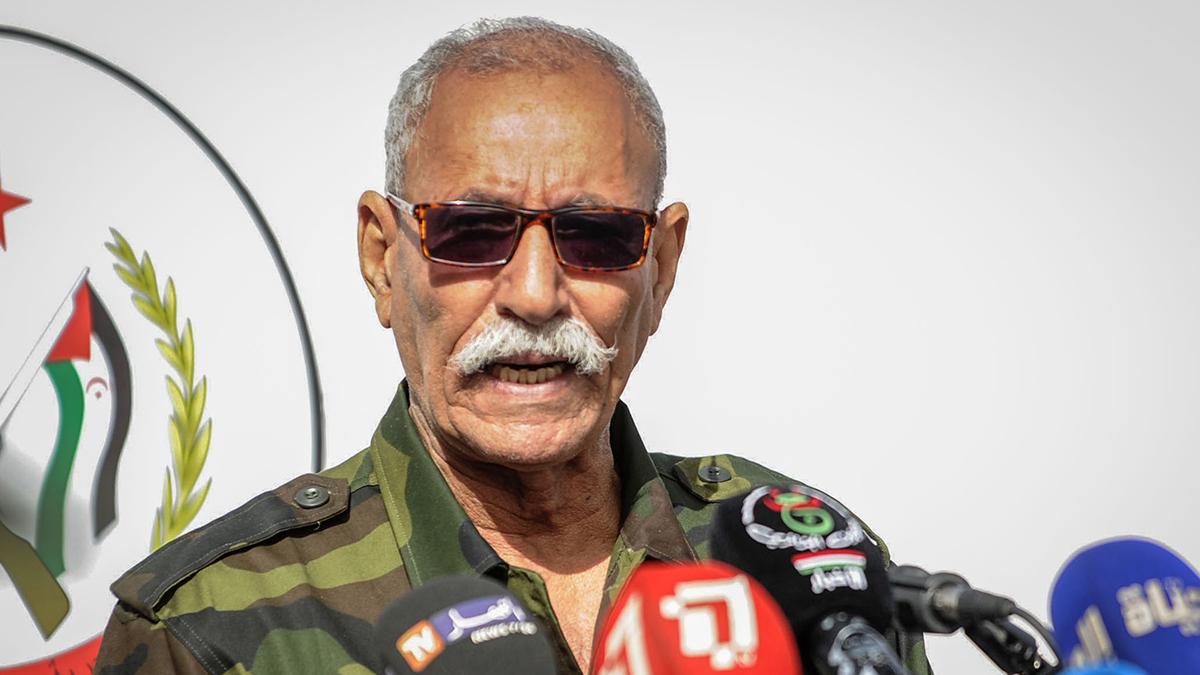 El líder del Frente Polisario, Brahim Ghali.