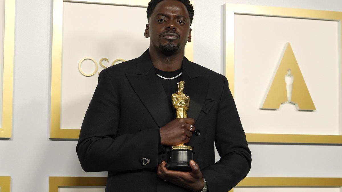 Daniel Kaluya en los Oscar (foto EFE)