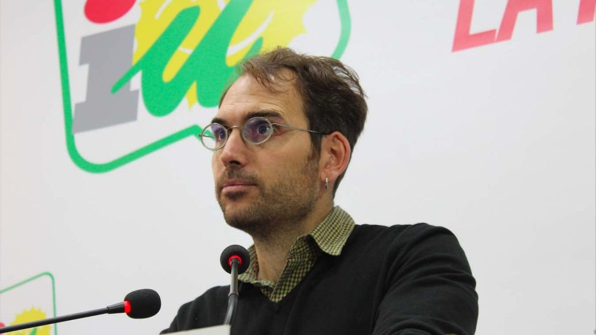 Toni Valero, coordinador general de IU Andalucía (IULV-CA).